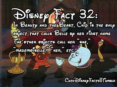 I've watched Beauty and the Beast a hundred times I eventually picked up on this is part of Disney fun facts - Disney Fanatic, Disney Nerd, Disney Memes, Disney Quotes, Disney Love, Disney Stuff, Funny Disney, Disney Trivia, Disney Magic