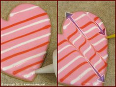 valentine cookie tutorial