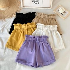 Indie Outfits, Cute Casual Outfits, Short Outfits, Summer Outfits, Girl Outfits, Short Dresses, Teenager Outfits, Casual Shorts, Girls Fashion Clothes