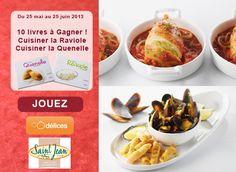 Jeu concours : gagnez 10 livres Cuisiner la Raviole et Cuisiner la Quenelle avec Saint Jean - Ôdélices