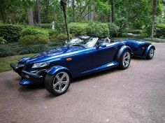 2002 Chrysler Prowler - High Voltage Blue - 1 of 1 - Last Prowler made. Auctioned from factory.