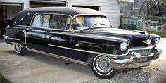 1956 Hess & Eisenhardt Cadillac Hearse