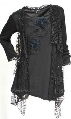 Pretty Angel Clothing PLUS SIZE Memphis Vintage Blouse In Gray