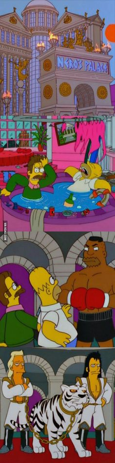 The Simpsons did the Hangover back in 1999