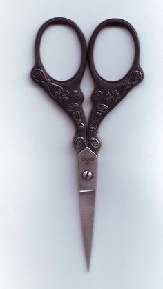 Black Decorative Vintage Scissors