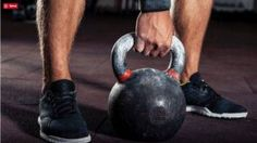 Three kettlebell exercises that will improve grip strength. Kettlebell Training, Kettlebell Weights, Kettlebell Challenge, Kettlebell Swings, Brain Training, Workout Kettlebell, Workout Exercises, Body Workouts, Fitness Workouts