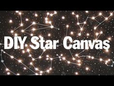 Starry Night Canvas Light