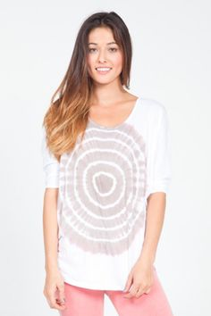OmGirl Everyday Tee- Bullseye | evolvefitwear.com