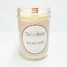 Very Very Vanilla Candle