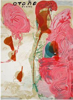 Otono Floral, 1995 by Julian Schnabel.