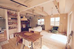 大子町の木材をふんだんに使用した優しいお家