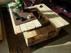 17 Idées pour fabriquer une table basse palette | Tables and Salons