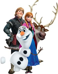 frozen characters - Google Search