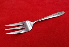 Stainless Steel Flatware, Fork, Vintage Jewelry, Meat, Handle, Type, Pictures, Rings, Pattern
