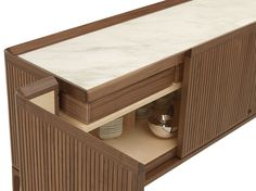 Neverfull Low by Ceccotti Collezioni is a sideboard made in solid American walnut and plywood venereed American walnut, internal in maple wood, top in wood. Low Sideboard, Buffet Console, Sideboard Cabinet, Cabinet Furniture, Dining Furniture, Modern Furniture, Furniture Design, Wardrobe Cabinets, Interior Design