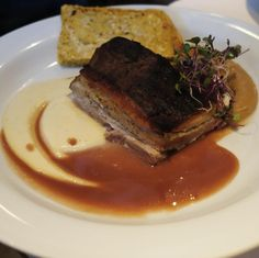 The Ultimate Experience ($34): Brined, Smoked and Braised Nagano Pork Belly Nagano, Pork Belly, Montreal, Steak, Beef, Travel, Food, Meat, Viajes