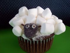 Lamb Chocolate Cupcakes