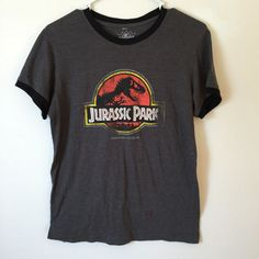 Vintage Jurassic Park Shirt, Jurassic Park, 90s shirt, 90s grunge, dinosaur shirt, dinosaurs, size small