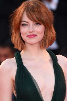 19-Short Hairstyles for Round Faces