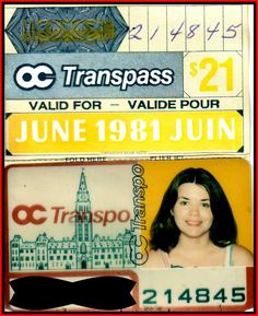 The last time I used an Ottawa bus!
