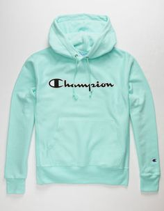 champion outfit hoodie Champion Reverse W - hoodies Green Champion Hoodie, Champion Sweatshirt, Hoodie Sweatshirts, Pullover Hoodie, Stylish Hoodies, Cool Hoodies, Nike Tech Fleece, Leather Hoodie, Champion Clothing