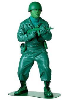 Green Army Man Halloween Costumes