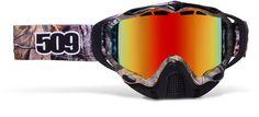 509 Sinister Goggles (Realtree Pink Camo) 60.00 amazon.ca  snowmobile goggles -removable nose cover