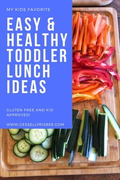 Ideas for toddler meals can be challenging if you have picky eaters! Here are my 1 year old and 2 year old 3 favorite healthy lunch recipes Healthy Toddler Lunches, Healthy Baby Food, Healthy Meals For Kids, Healthy Foods To Eat, Healthy Snacks, Healthy Recipes, Food Baby, Lunch Recipes, Baby Food Recipes