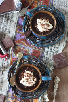 Velvet 'n Cream, Chocolate Pudding Supreme | Tadka Pasta