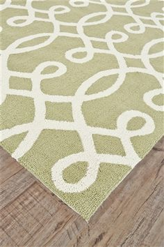 Feizy Rugs Cetara Collection Green & White Area Rug 💕SHOP💕 www.crownjewel.