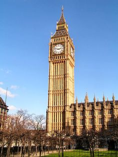 Big Ben, London - England ~ @My Travel Manual