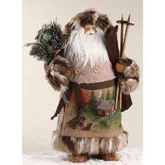Woodland-Inspired Santa