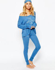 Image 1 ofWildfox Hangover Camping Nightwear PJ Set