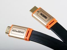 ATF14032BL-10 HDMI A/V Cable for Audio/Video Device, Projector, TV - 33 ft by Atlona Technologies. Save 57 Off!. $59.95. The Atlona Flat High Speed HDMI cables with Ethernet are unlike any cable you will find on the market. Supporting transfer rates beyond 10Gbps at resolutions 4x higher than standard 1080p (up to 4096 x 2160), this cable is designed to surpass all current standards of HDMI. Experience stunning colors, Dolby TrueHD audio and 100 Mb/sec Ethernet through our p...