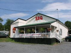 The BBQ Exchange, Gordonsville, VA. Tough to live in the South and not pig out on BBQ from time to time. [pardon the pun]. [www.tripadvisor.com]