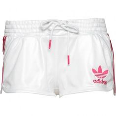 Adidas Originals Womens Chile 62 Shorts White/Bloom Sport Style, Sport Fashion, Adidas Originals, Chile, White Shorts, Gym Shorts Womens, Bloom, Range, Lady