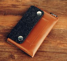 Felt leather iPhone 6 Case iPhone 6 Plus Case Cover by ICSKY