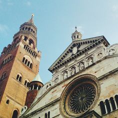 Looking up in #Cremona - Instagram by travelita