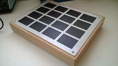 DIY MIDI CONTROLLER from 16 trackpads