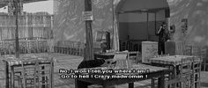 cinemagraph gif film black and white vintage cinemagraph woman cinema mad wind hell draft blackandwhite italia italian subtitles breeze typewriter federico fellini subtitle go to hell fellini la dolce vita cinegraph sampled the good life italian cinema the sweet life crazy madwoman mad woman