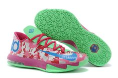 cb637dd596e2 KD 6 Easter ID Collection Light Arctic Pink Photo Blue Electric Green Kd 6  Shoes