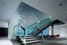 PMP Limited. Monumental stair with feature wall