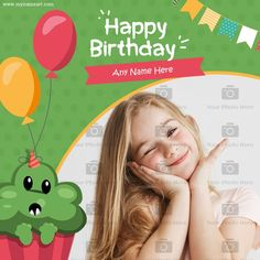Birthday Wishes With Photo, Birthday Wishes Girl, Online Greeting Cards, Girl Photos, Girl Pics, Girl Photography