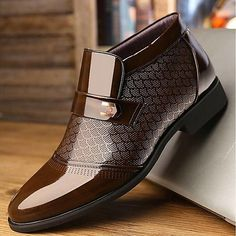 Menico Menico Men Hand Stitching Leather Non-slip Soft Sole Warm Casual Boots is fashionable, come to NewChic to buy mens boots online. Cheap Mens Boots, Mens Snow Boots, Buckle Ankle Boots, Men's Boots, Loafers Men, Oxfords, Mens Boots Online, Comfortable Mens Shoes, Business Shoes