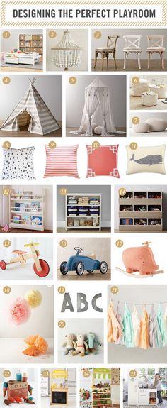 20 Fantastic Kids Playroom Design Ideas – My Life Spot Loft Playroom, Baby Playroom, Playroom Organization, Playroom Design, Playroom Decor, Kids Decor, Playroom Ideas, Organizing, Playroom Colors