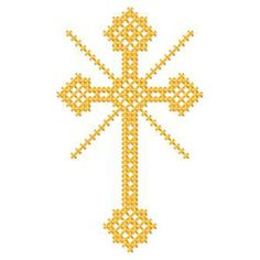 Beaded Cross Stitch, Crochet Cross, Cross Stitch Embroidery, Cross Stitch Patterns, Beading Patterns, Faith Crafts, Inkle Weaving, Easter Cross, Crafts