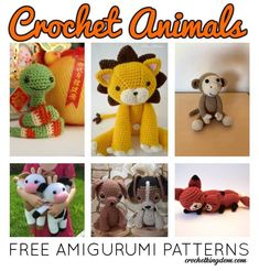 Crochet patterns animals. Adorable crochet pattern, all FREE for animal amigurumi, plushies and soft toys. Crochet Patterns for Farmland Animals Free crochet amigurumi pattern for a little pig. Size: about 6 inch.. Free crochet pattern for an amigurumi cow. This pattern works up fairly quickly at 13 inches tall. The legs and body are made as one piece with the head sewn on separately. The neck has a nice proportion to keep it sturdy for hours of play. Free crochet pattern for a cute mouse. Make Crochet Amigurumi Free Patterns, Crochet Animal Patterns, Stuffed Animal Patterns, Crochet Animals, Stuffed Animals, Free Crochet, Crochet Stitches, Crochet Christmas Ornaments, Crochet For Kids