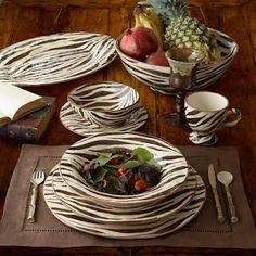 Zebra Dinnerwear