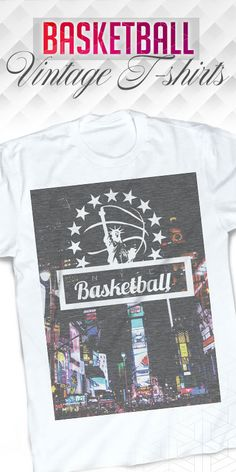 New York is one of the greatest places to play basketball and has produced some of the greatest players ever. See all basketball t-shirts on our website.