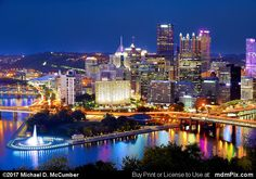 Pittsburgh Skyline Picture 013 - October 23, 2016 from Pittsburgh, Pennsylvania Picture